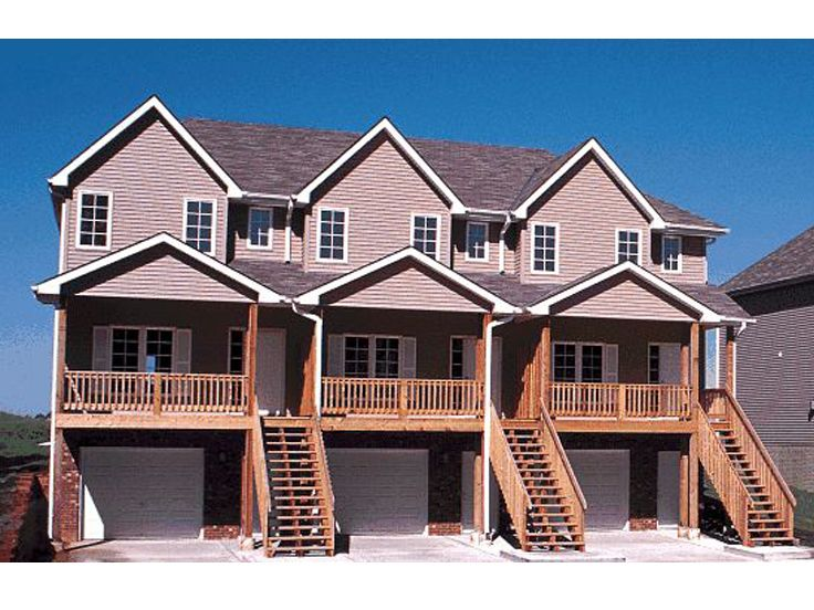 Three family house plans cost efficient choices for Three family home plans