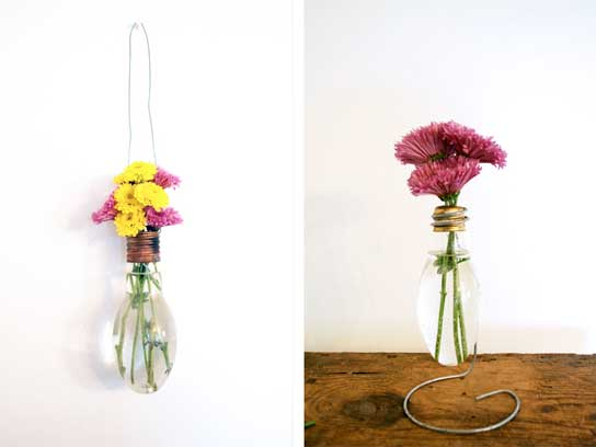 What you can do with old bulbs at home