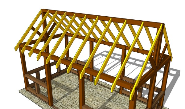 How to build a pavilion step by step for Building a house step by step