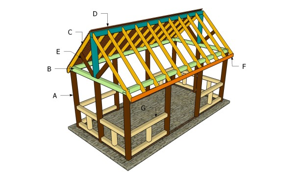 How to build a pavilion step by step Step by step to build a house