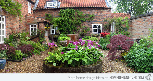 Classic courtyards and gardens at home