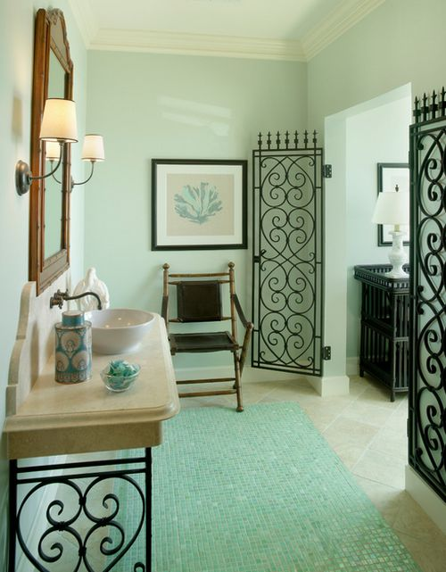 Wrought iron indoor décor ideas