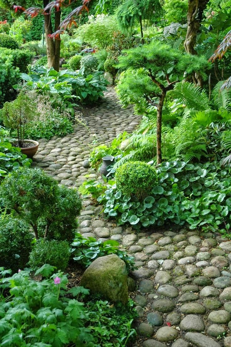 Using stone in rustic gardens elegance and drama - Using stone in rustic gardens elegance and drama ...