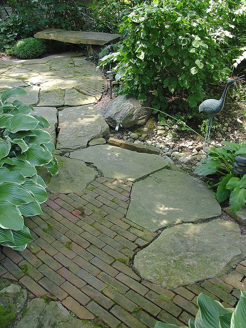 Using stone in rustic gardens elegance and drama - Nature curiosity stressed out plants emit animal like signals ...