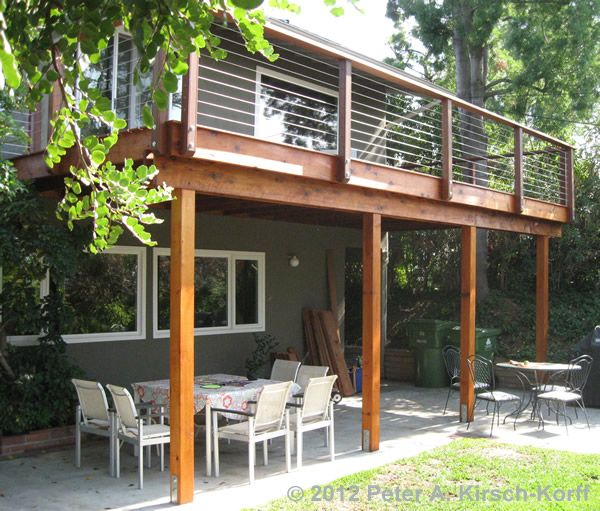 Wood balcony design ideas for homes