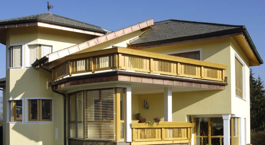 Wood balcony design ideas for home