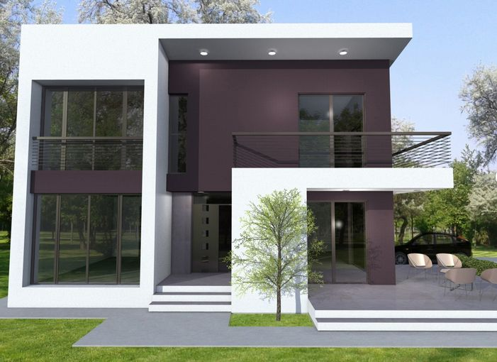 modele de case cu si fara etaj one and two story house plans 8