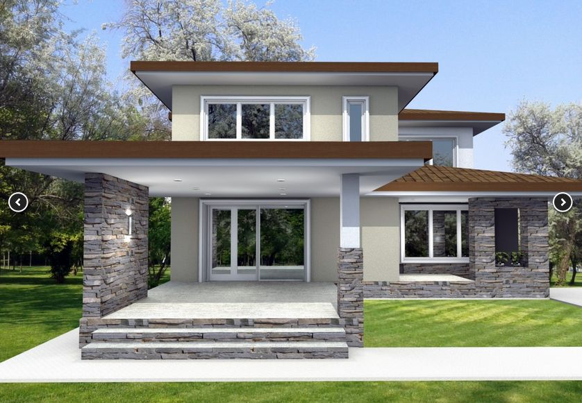 Two story house plans with master on first floor Two storey house plans