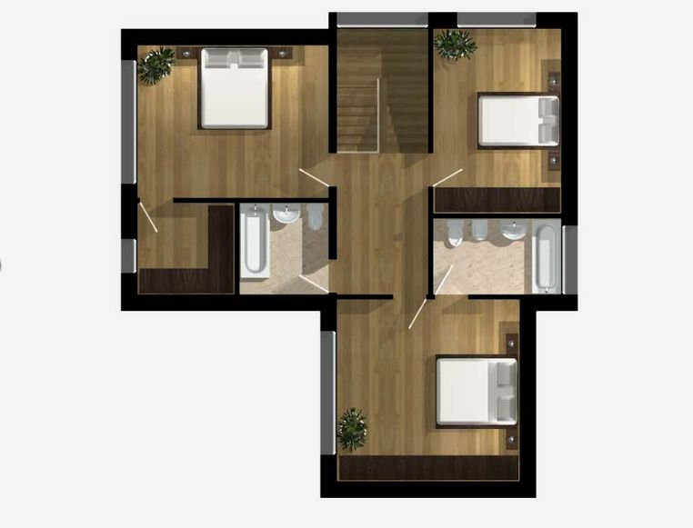 Two story house plans with master on first floor for First floor master