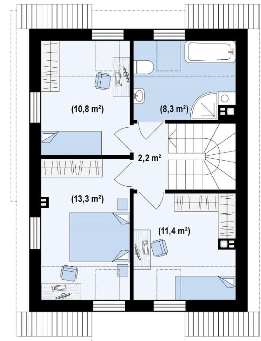 proiecte de case de 100 de metri patrati 1,000 square feet house plans 7
