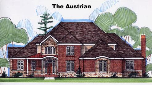 Austrian style house plans are superb