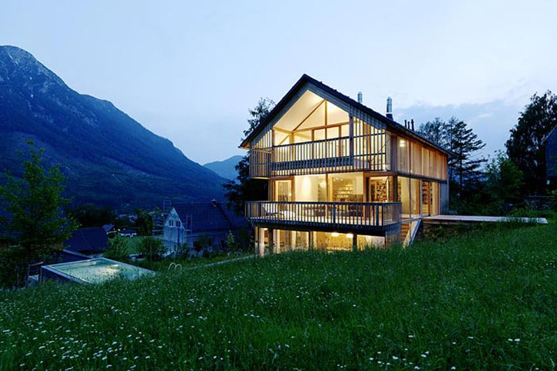 Austrian style house plans mountains beauty