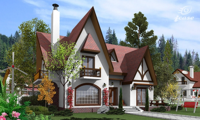 Classic house plans designs traditional elegance for German house plans