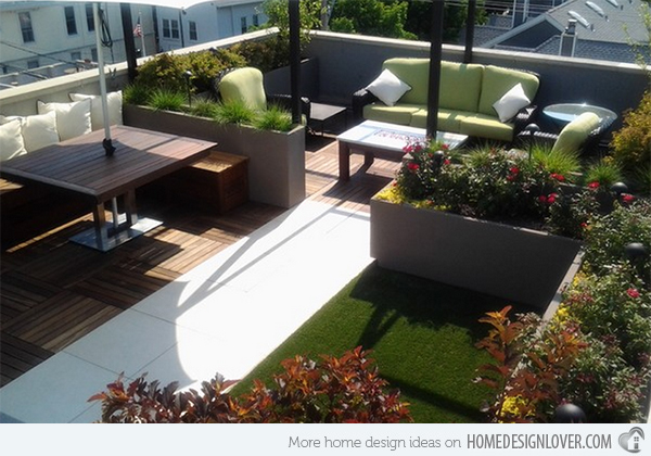 Rooftop terrace designs \u2013 curios nature & Rooftop terrace designs - small urban oases