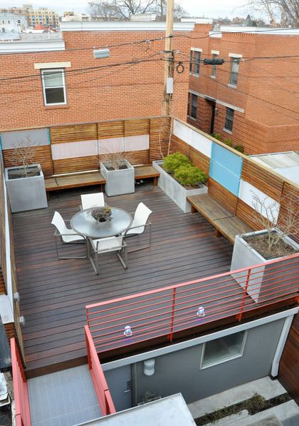 Rooftop terrace designs are beautiful