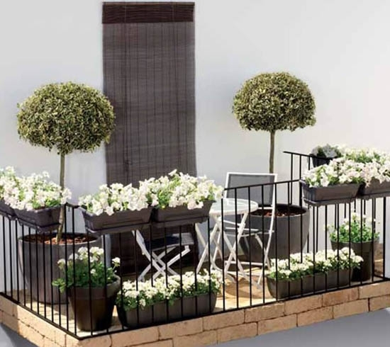 six ways to spruce up your balcony. Black Bedroom Furniture Sets. Home Design Ideas