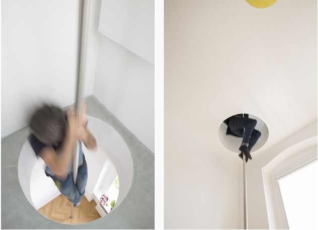 The fireman pole apartment in Berlin