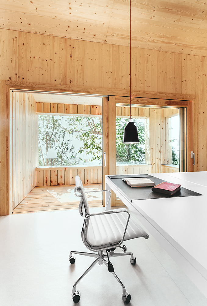 cabana pasiva din spania The passive wood cabin in Spain 4