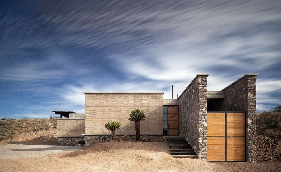 Pestera casa moderna din desertul mexican - The cave the modern home in the mexican desert ...