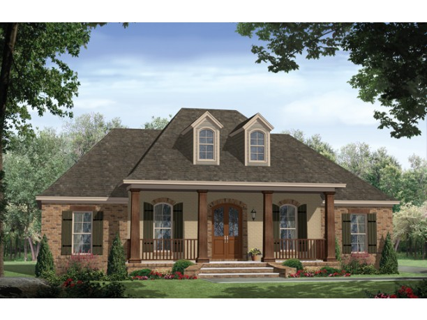 Old Brick House Plans U2013 Classic, With A Rich Facade Pictures