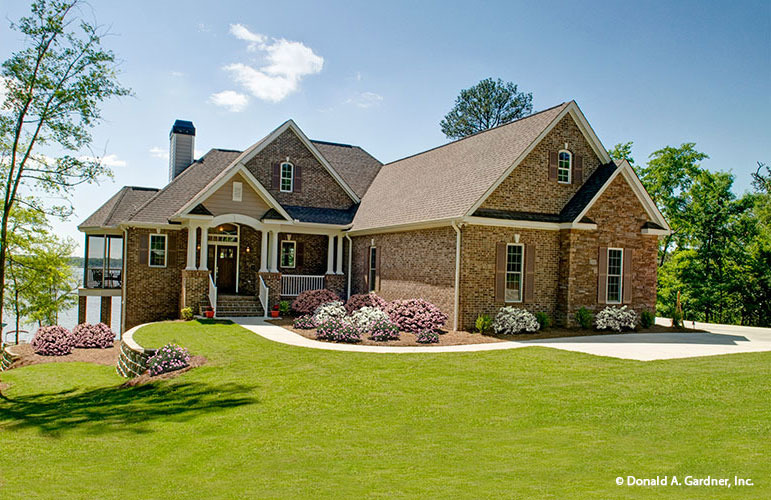 old brick house plans classy exteriors modern interiors