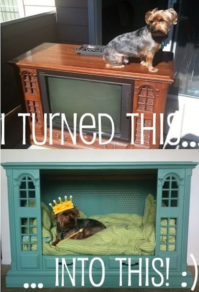 What to do with an old TV at home