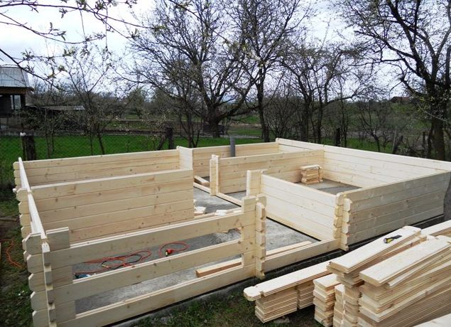 How to build a wooden house step by step for Building a house step by step