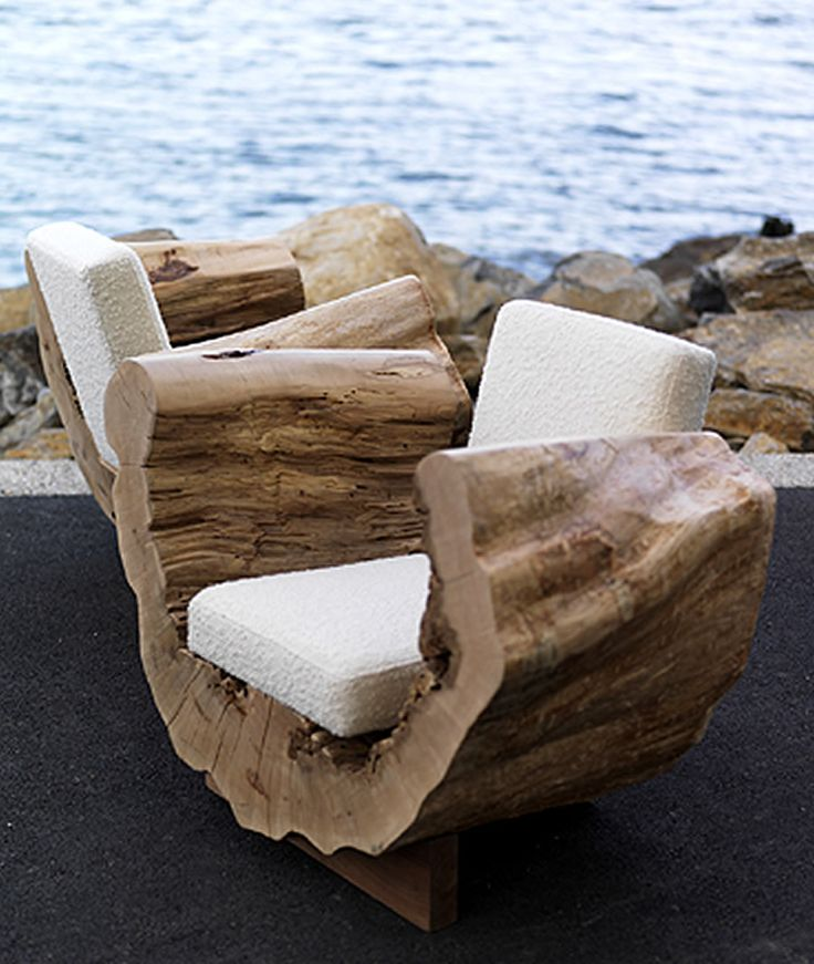Stump decorating ideas for home