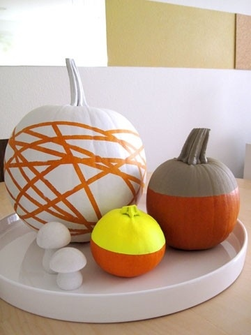 decoratiuni din dovleci Pumpkin decorating ideas 7