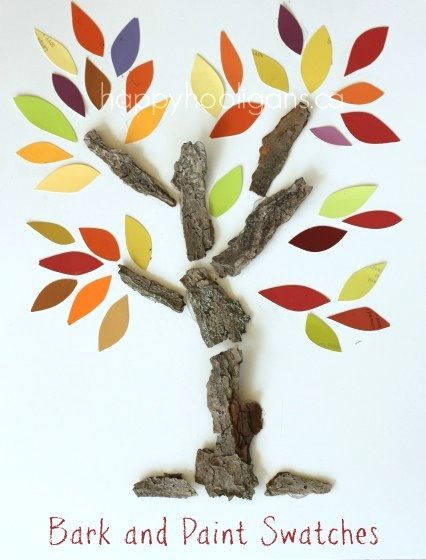 decoratiuni din scoarta de copac tree bark decorations 3