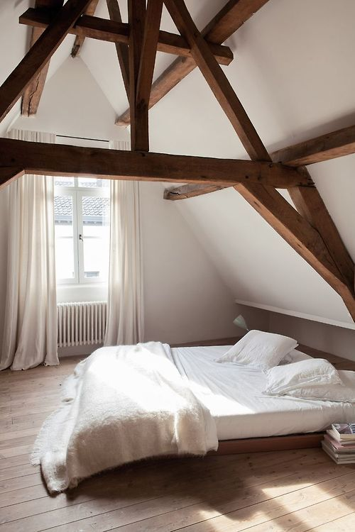 Rustic style attic design a corner full of passion Rustic style attic design a corner full of passion