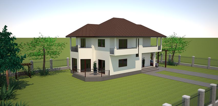 Three bedroom house plans spacious medium sized homes for Spacious house plans