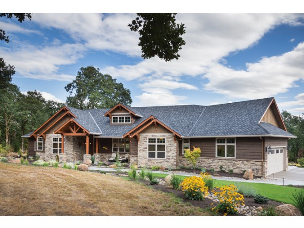 Wood And Stone House Plans U2013 American Craftsman Style