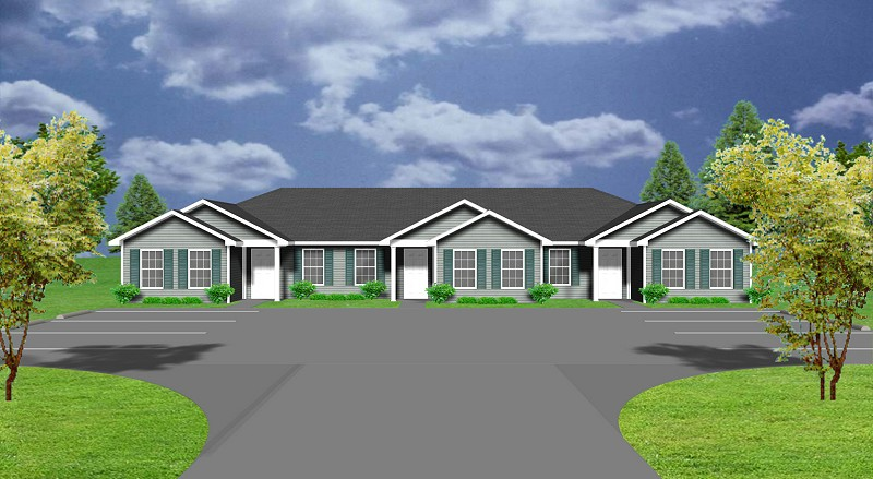 Triplex house plans for all