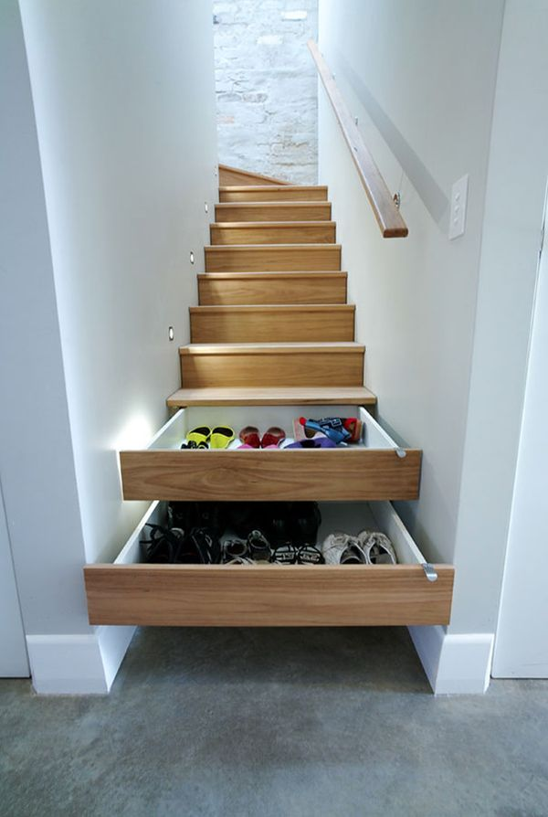 Lovely Storage Spaces In Small Places
