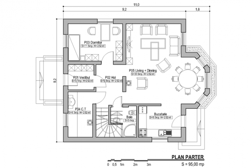 case-cu-bovindou-Bay-window-house-plans-7 House Plans With Bay Window On Front on house plans with a sunroom, house plans with arched doors, house plans with material list, house plans with interior balconies, house plans with large master suites, house plans with steps, house windows from outside in, house plans with guest house, house plans with window walls, house with lots of windows, house plans gourmet kitchen, house plans with pocket doors, house plans with soffits, house plans with back view, house plans with glass, house plans with walk-in closets, house plans fireplace, house plans with arches, house designs with big windows, house plans breakfast nook,