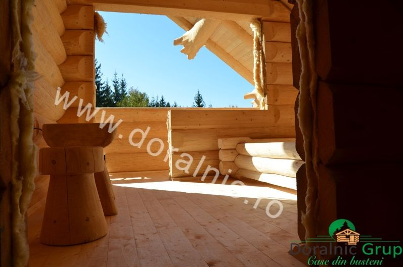 case ieftine din lemn rotund Cheap log houses 6