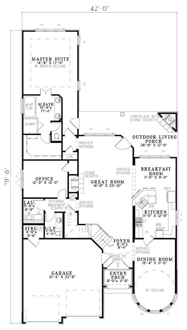 case in stil Tudor Tudor style house plans 8