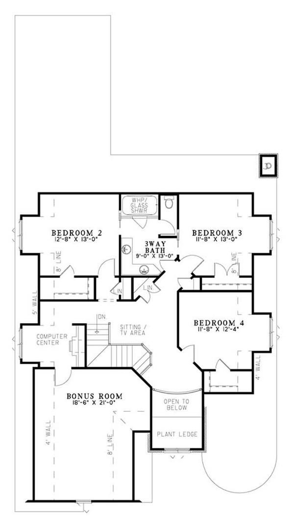 case in stil Tudor Tudor style house plans 9