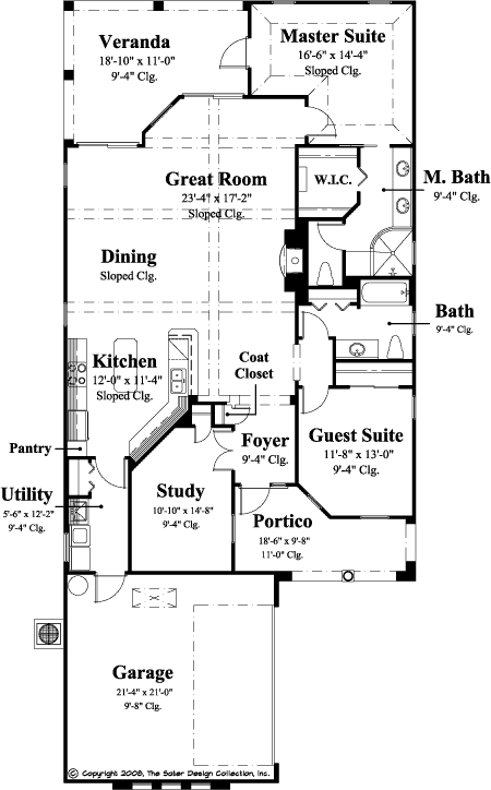 case in stil toscan Tuscan style house plans 2
