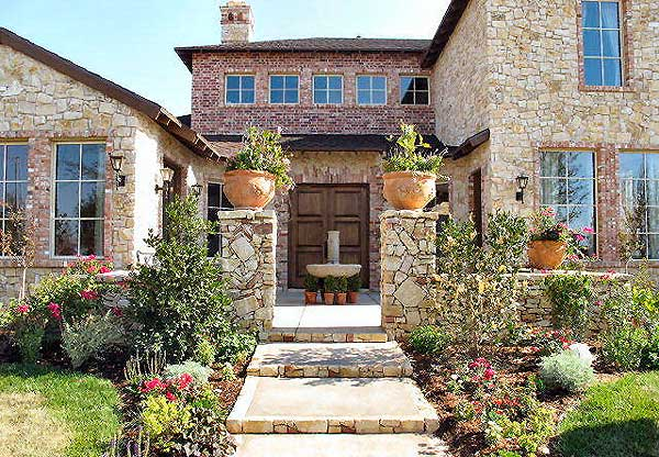 case in stil toscan Tuscan style house plans 6