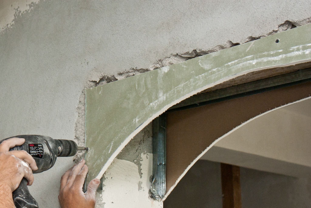 construirea unei arcade din rigips How to build a drywall arch 3
