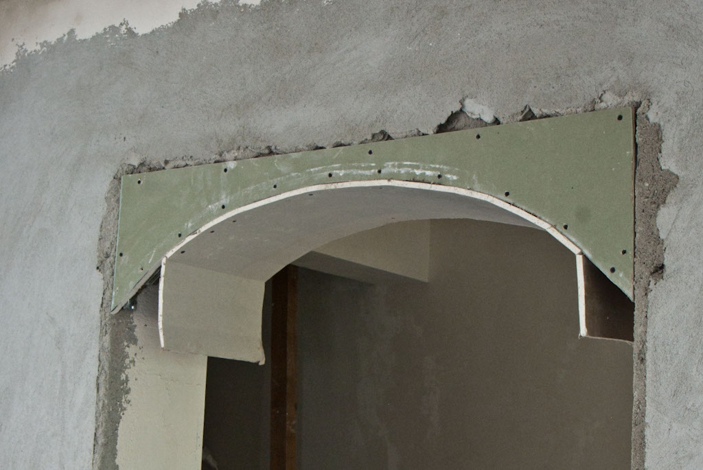How To Build A Drywall Arch