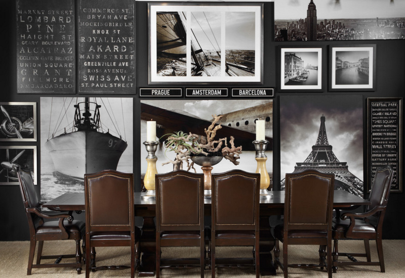 Travel-themed design ideas at home