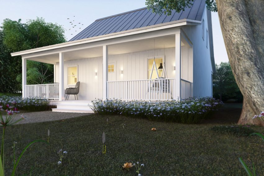 House plans that are cheap to build for Cottage cabins to build affordable
