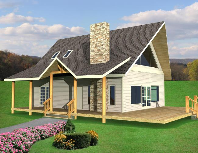 House plans that are cheap to build for Most inexpensive house plans to build