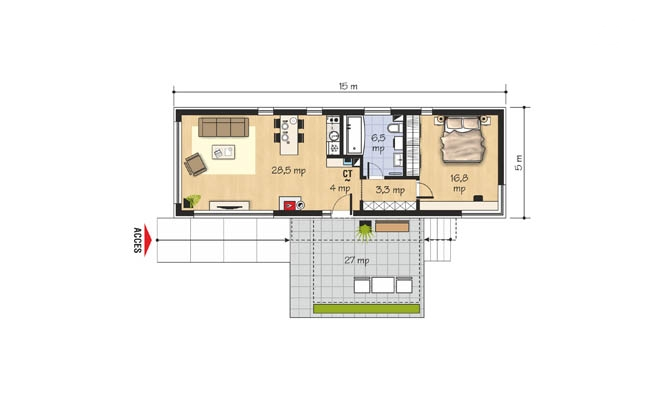 small houses under 100 square meters houz buzz