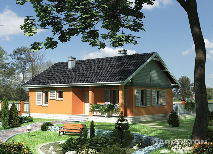 Small houses under 100 square meters in surface
