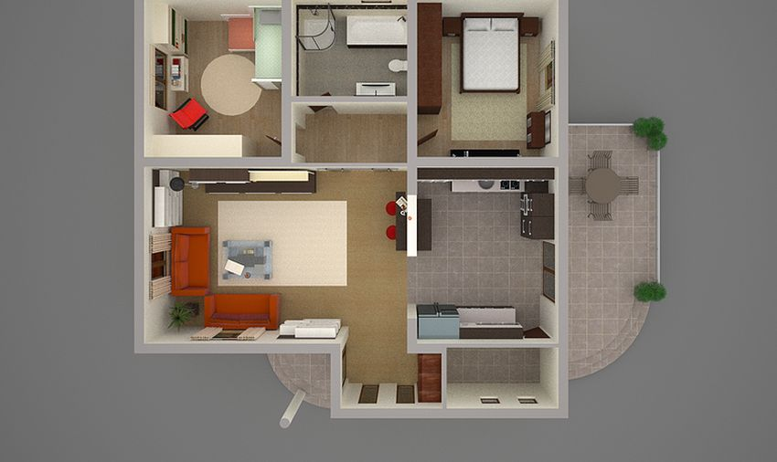 proiecte de case tineresti House plans for young families 9