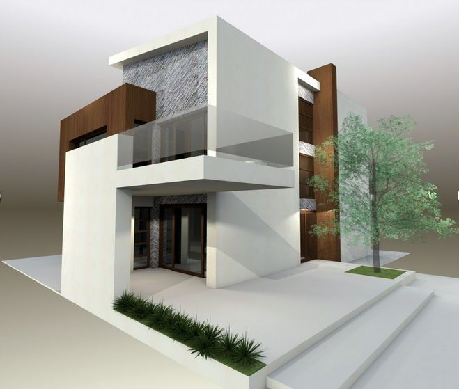 House plans with glass terrace outside